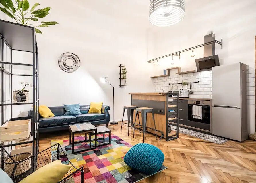 Krudy Gyula 15 – Stunning Fancy Downtown Spot with 2 br